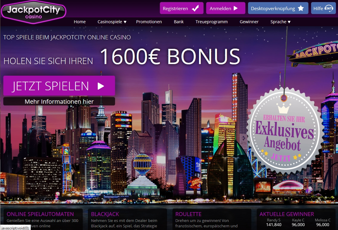 online jackpot city casino