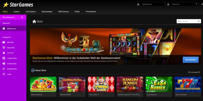 online casino neu casin0 game