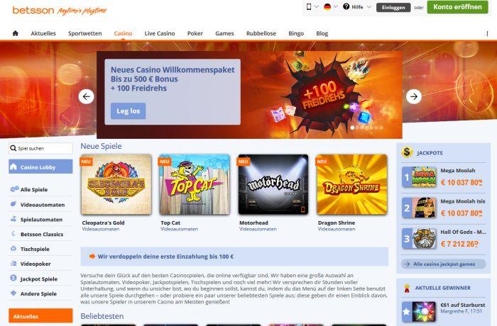online casino freispiele jetzt spieln
