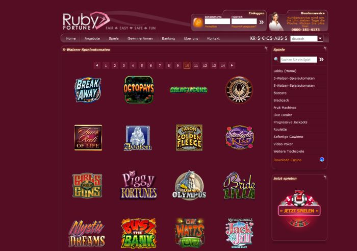 How to Locate a Free Ruby Fortune Casino Slot Website