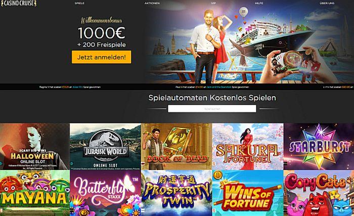 cruise casino online
