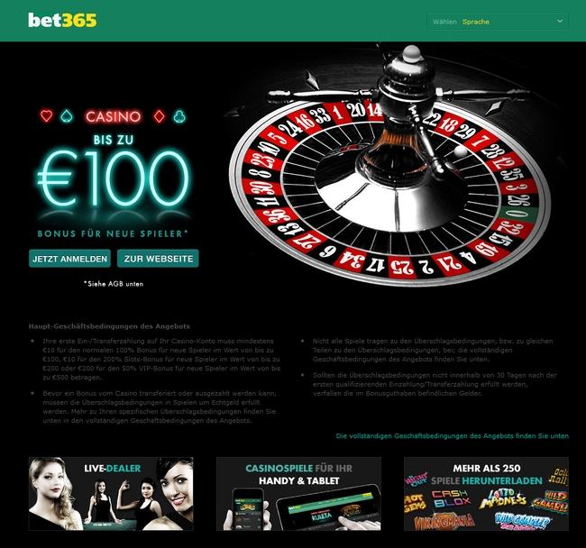 Bet 365 Casino Vorschau