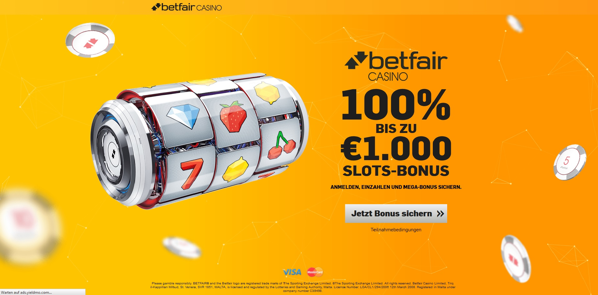 Betfair Casino Bonus