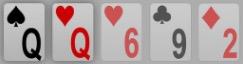 Pokerhand ein Paar