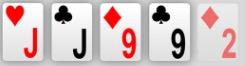 Pokerhand Zwei Paar