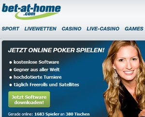 Bet at Home Poker Angebot