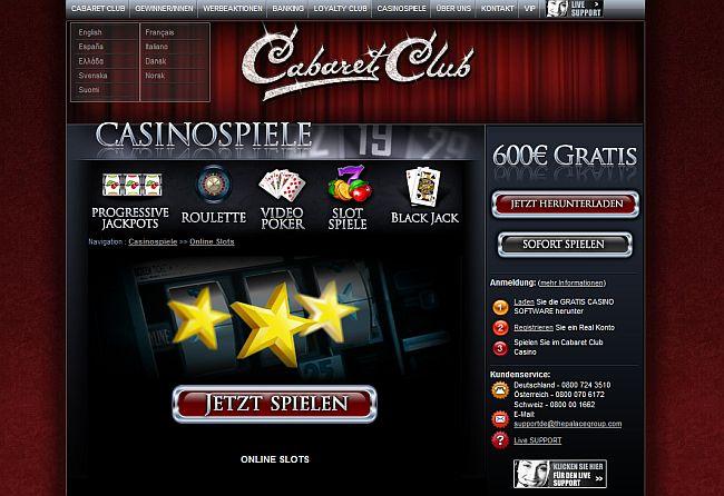 Cabaret Club Vorschau