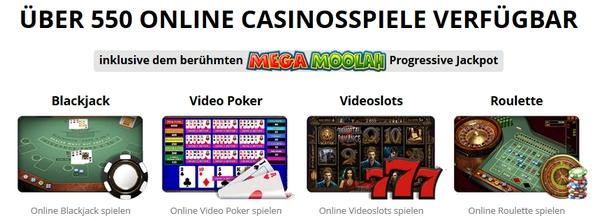 Zodiac Casino Spiele