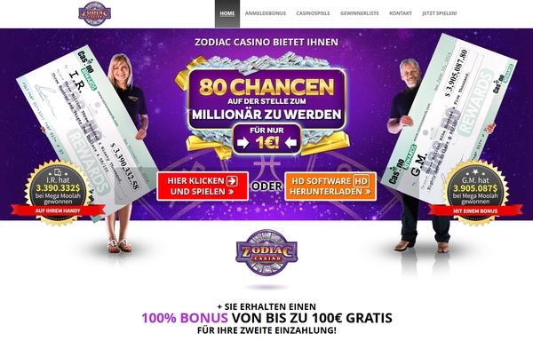 Zodiac Casino Vorschau