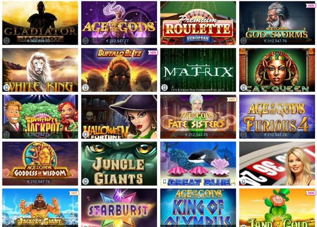 Winner Casino Spiele