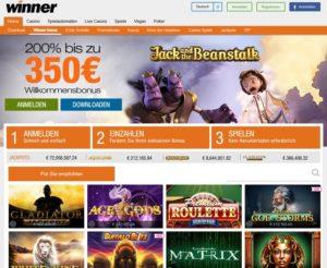 Winner Casino Startseite