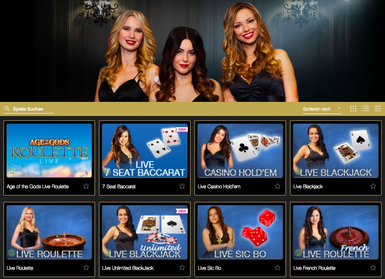 CasinoTropez LiveCasino