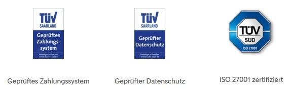 Tuev Zertifikate