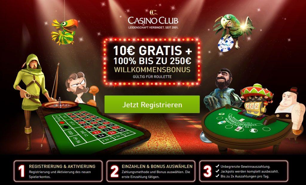 Casino Club Start