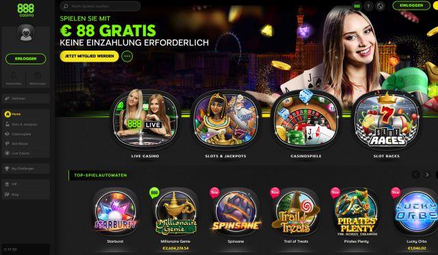 888 Casino Vorschau 2019