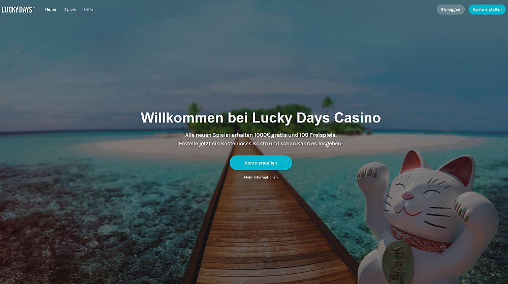 Lucky Days Casino Startseite