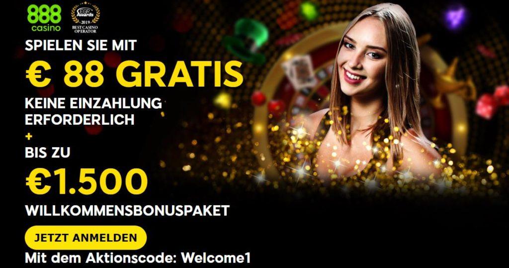 888 casino bonus 2020