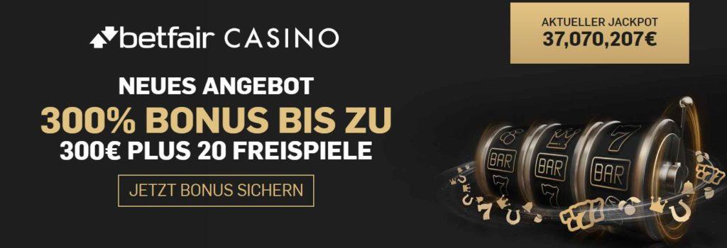 Betfair Casino Bonus 2020