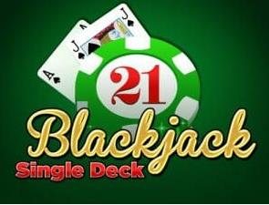 Black Jack Single deck 2020