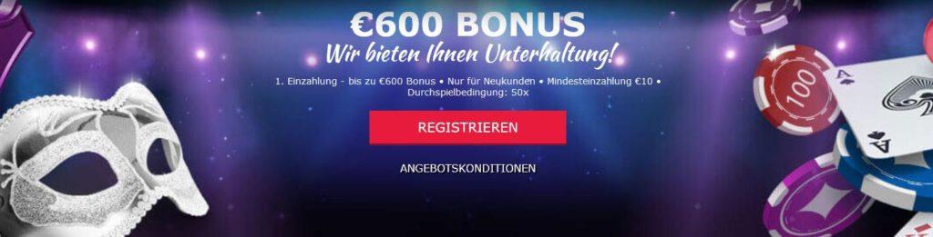 Cabaret Club Bonus 2020