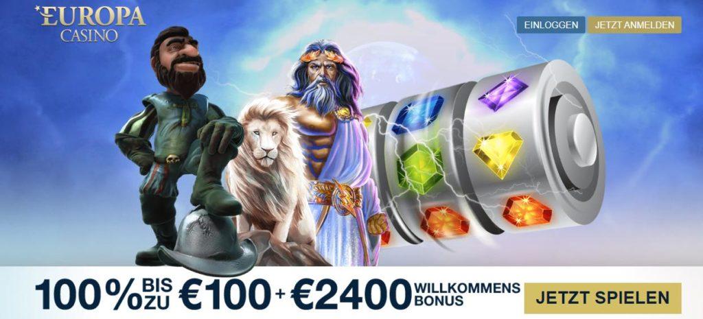 Europa Casino Bonus 2020