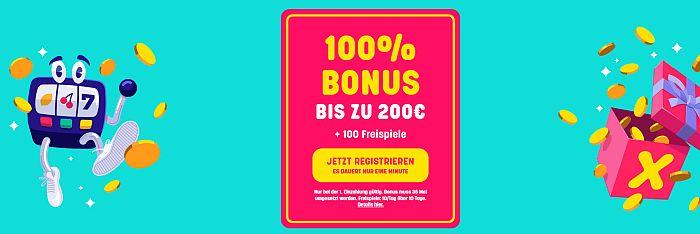 Caxino Bonus 2020 für 1€