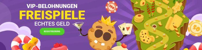 Cookie Casino Aktionen