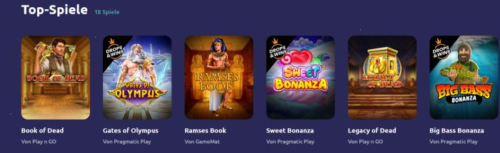 Spin Away Casino Spiele